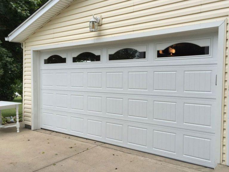 garage door installation project